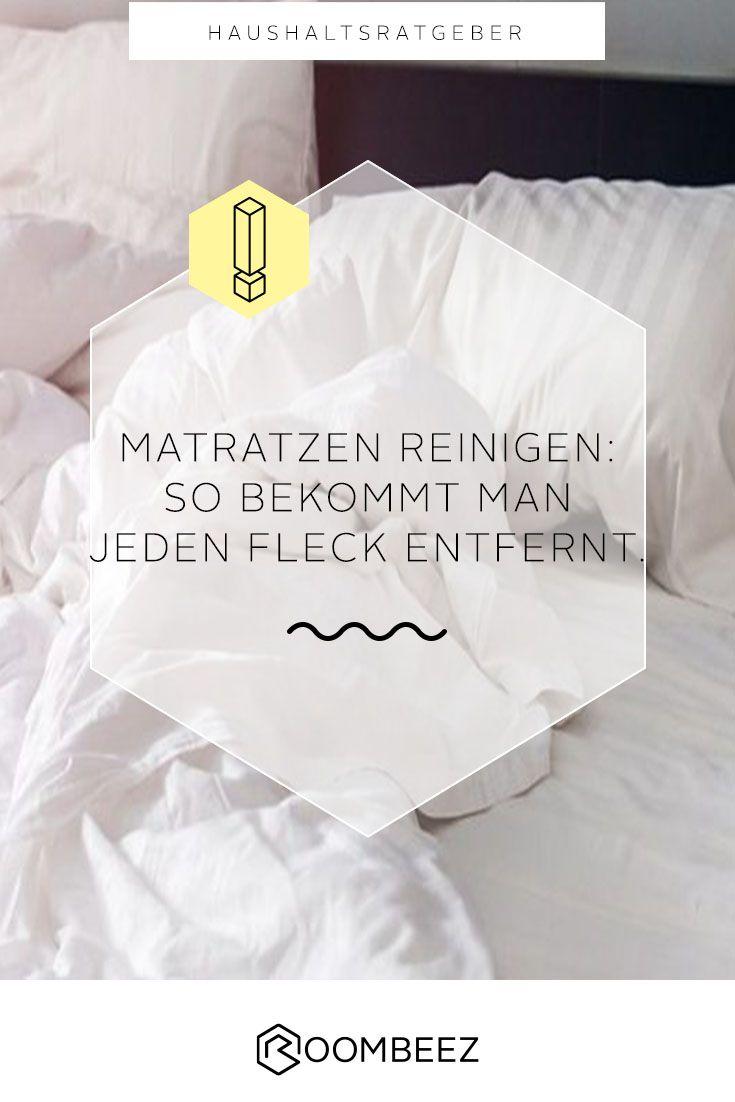 Matratze reinigen » Tipps und Hausmittel | Roombeez @ OTTO ...
