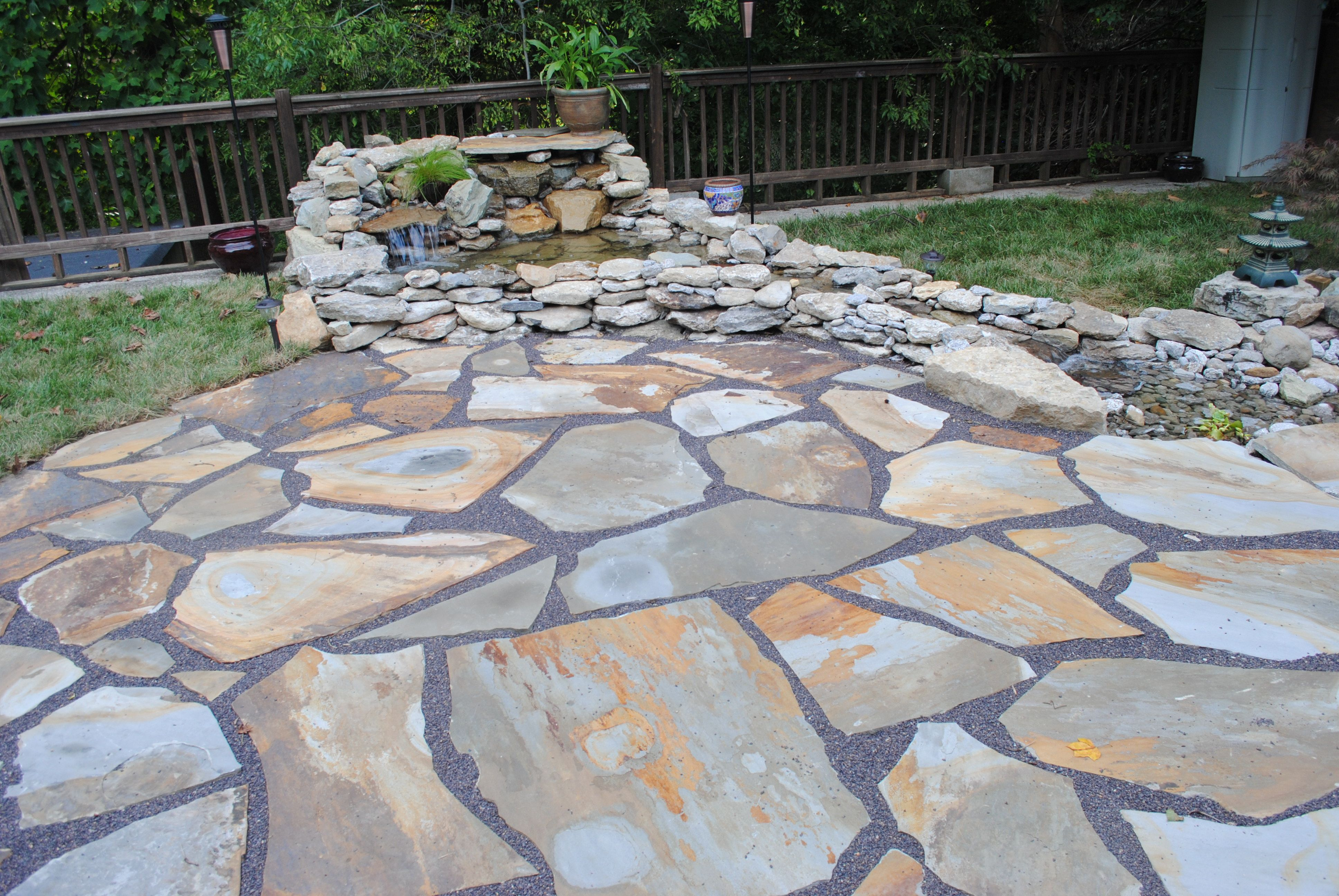 25 Great Stone Patio Ideas for Your