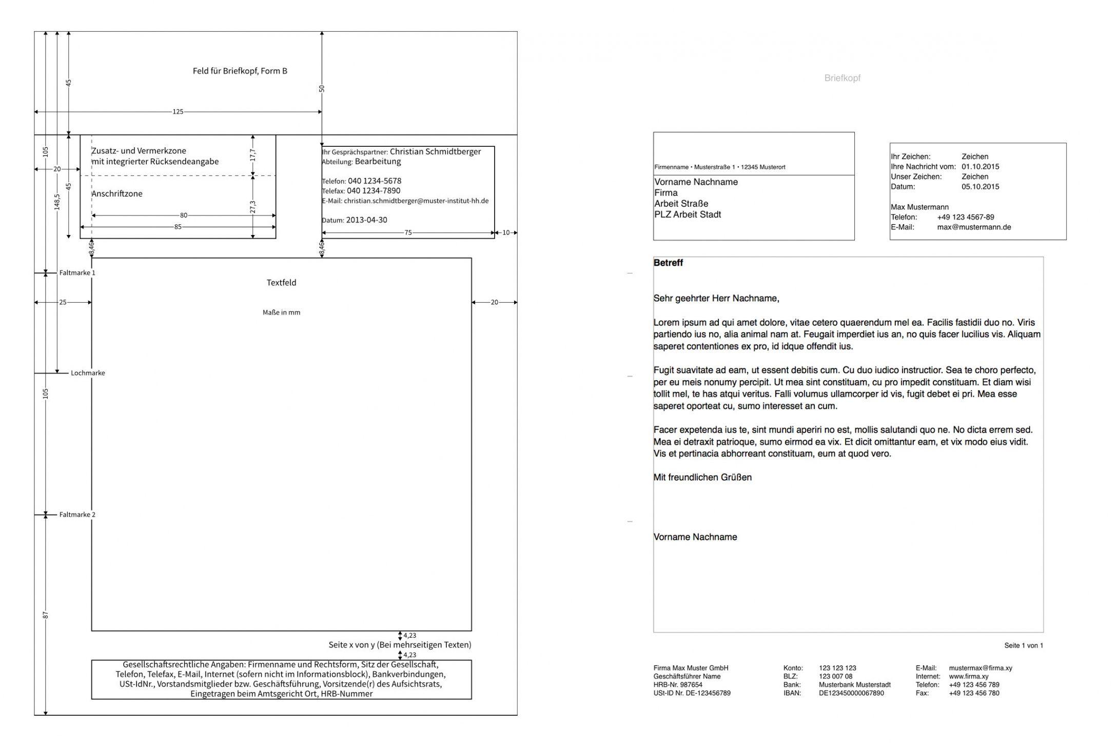 Blattern Unsere Das Beispiel Von Rechnung Din 5008 Vorlage Vorlagen Word Geschaftsbrief Rechnung Vorlage