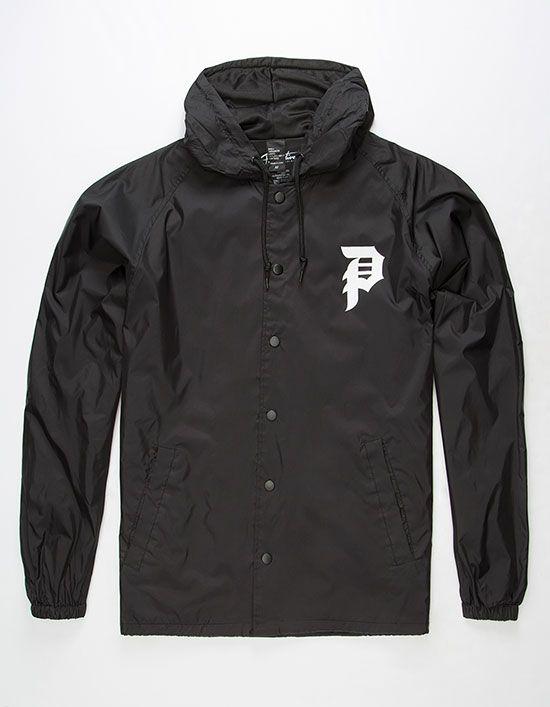 3902a6baa4e3 PRIMITIVE Dirty P Mens Coaches Jacket