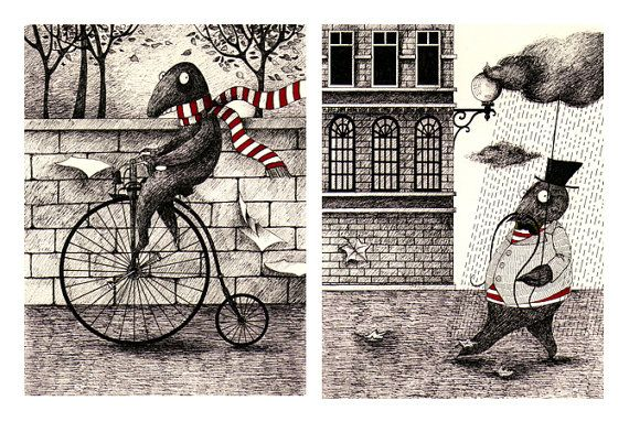 two little victorian monsters