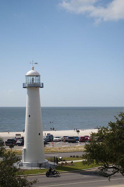 Biloxi Light House Biloxi Lighthouse Lighthouse Beautiful