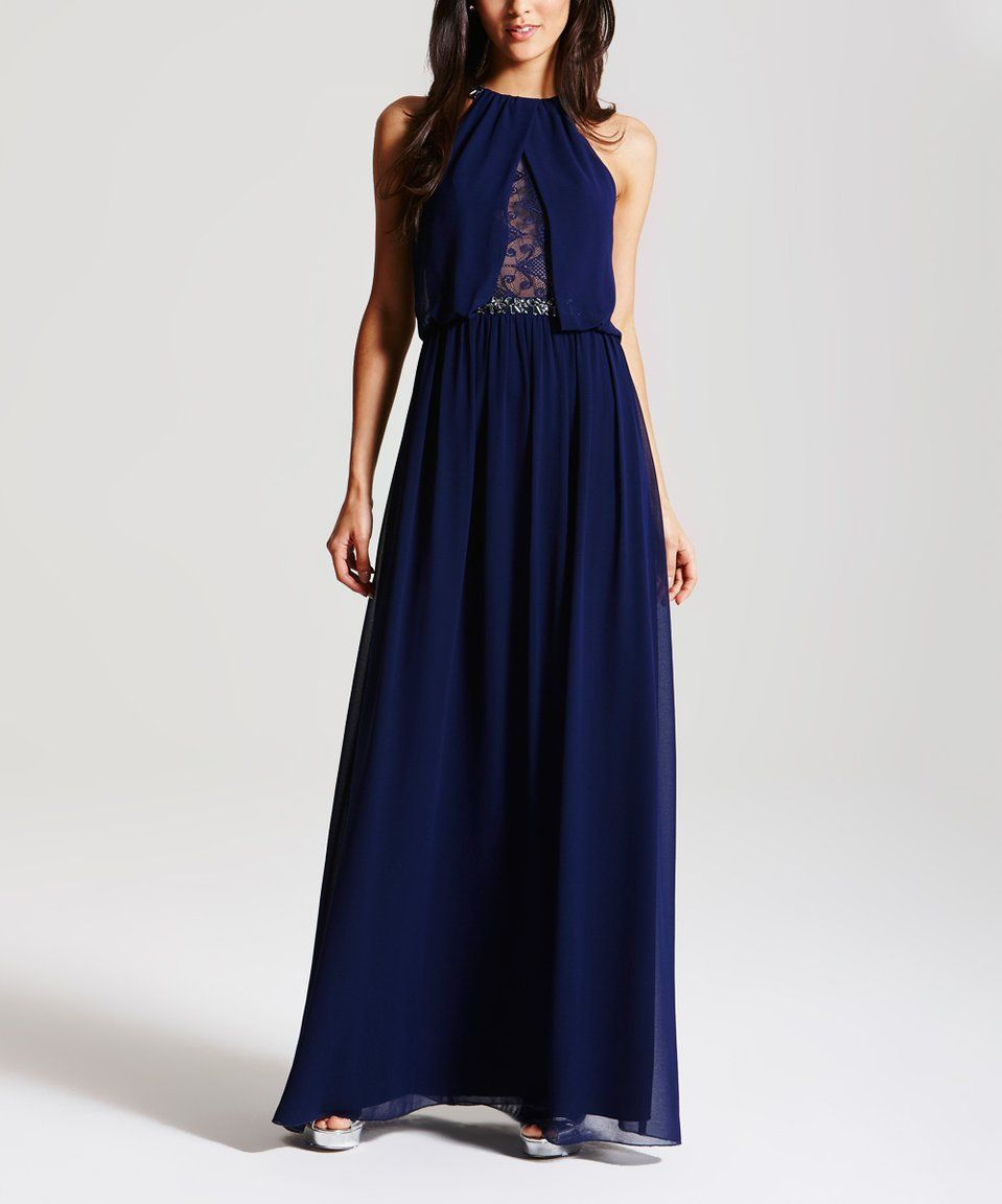 Another great find on zulily little mistress navy blue lace