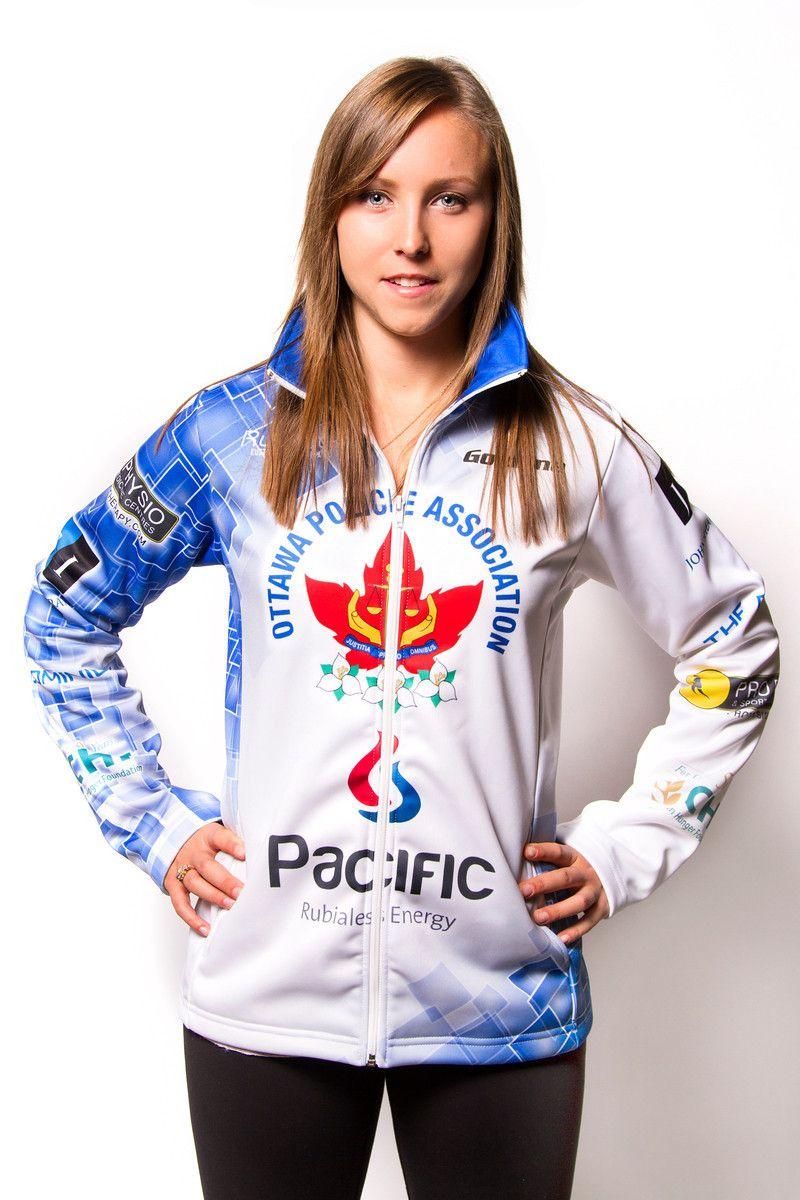 RACHEL HOMAN Canadian National Team Curler! Rachel's