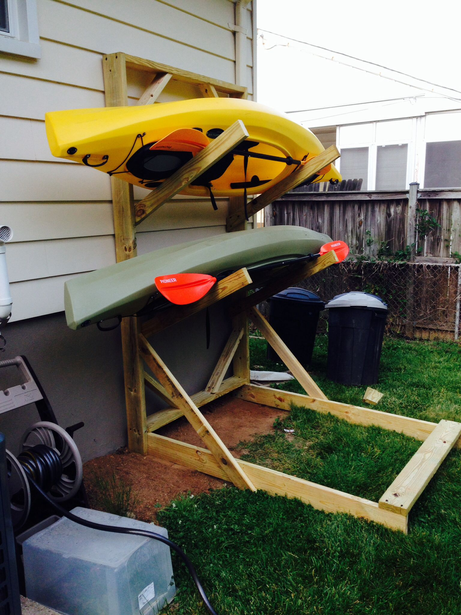 Canoe Racks, Kayak Fishin, Didy Bag, Diy Kayak Rack, Diy Kayak Storage