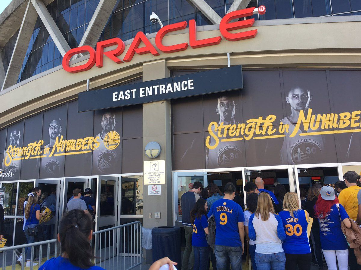 1 hour to game time #Warriors #NBAFinals