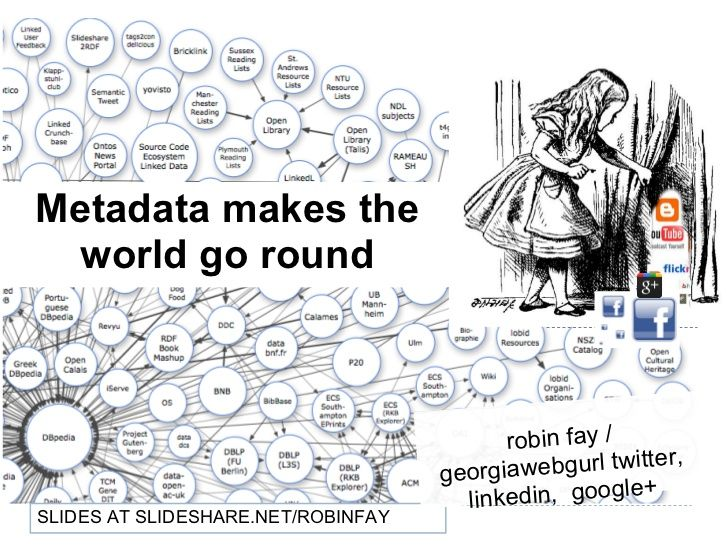 metadata makes the world go round.. from social networking ...