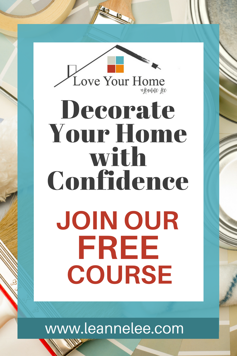 Do you struggle when it comes to decorating your home? Do you watch all of those decorating shows on HGTV and DIY Network and look at all of the amazing homes on Pinterest and wonder how you can live up to those expectations? Join this free course to decorate your home with confidence.