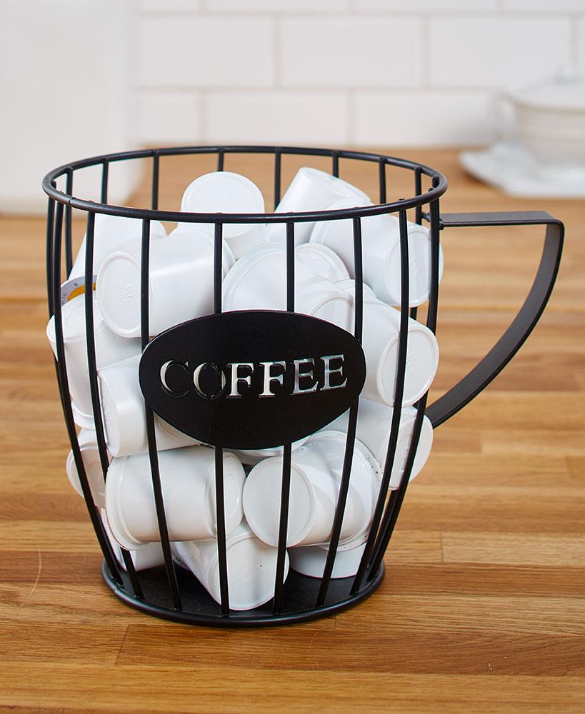 Home Coffee mug storage, Coffee pods, Coffee cups