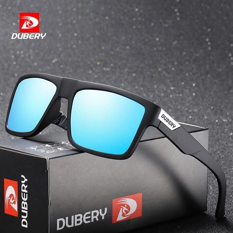 c337e71bda34 DUBERY Polarized Sunglasses Men's Retro Male Colorful Sun Glasses For Men  Fashio | eBay