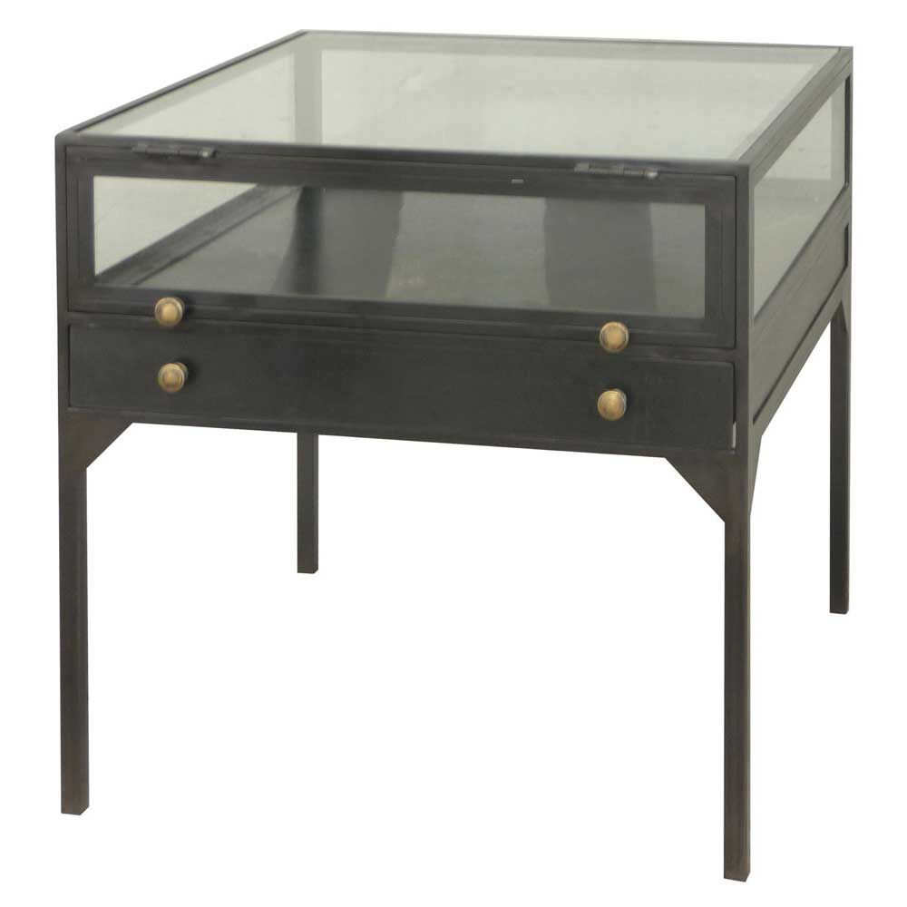 Merveilleux Four Hands Belmont Shadow Box End Table
