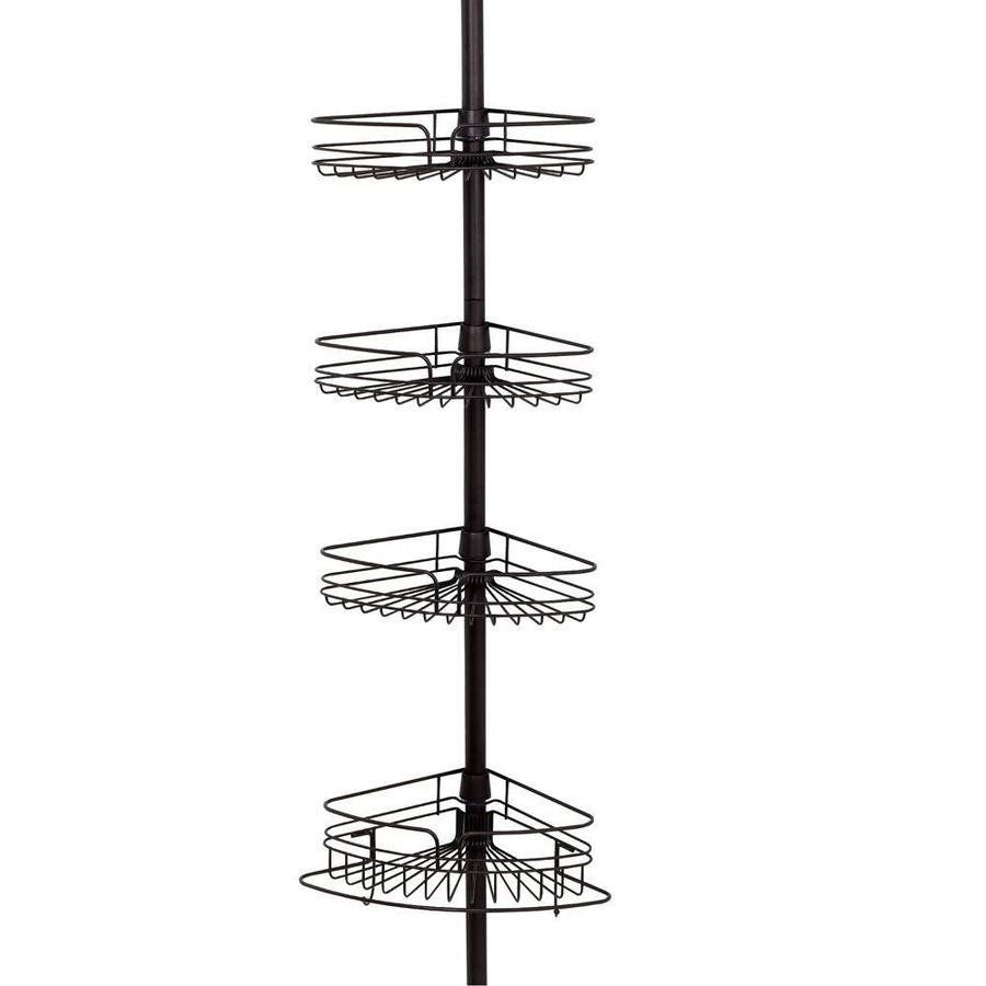 Home Depot Shower Caddy Shop Zenith Products Zenith 9Ft H Steel Freestanding Shower Caddy