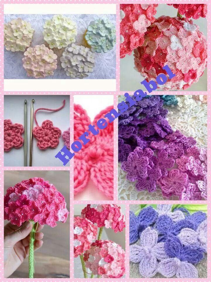 Hortensia Haken Pinterest Crochet Flowers En Crafts