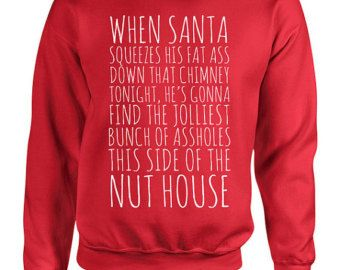 Christmas Vacation Movie Quote Sweater Crewneck Sweatshirt Hoodie ...
