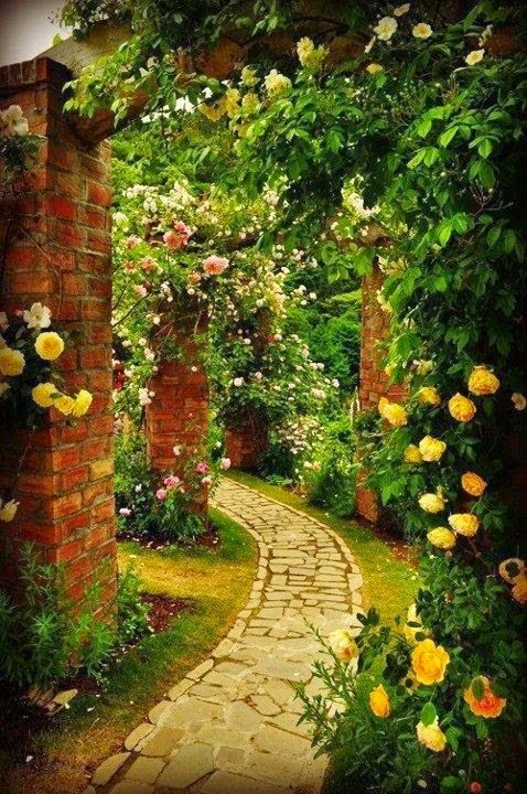 64 Glorious Garden Pathways Jardines, Jardín y Jardinería