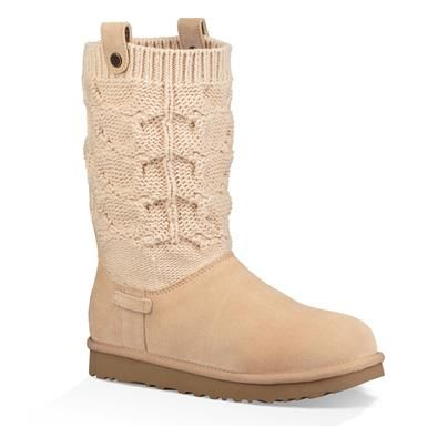 Ugg Saela Comfort Winter Boots Womens Black Ugg Pinterest