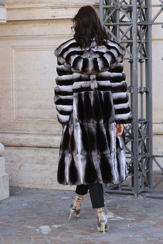 revendeur c6561 316db Détails sur La fourrure manteau de fourrure manteau ...