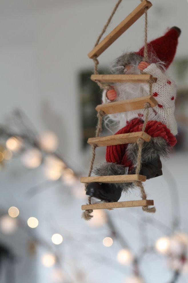 Reflexiones alrededor de la chimenea Navidad Decoración de