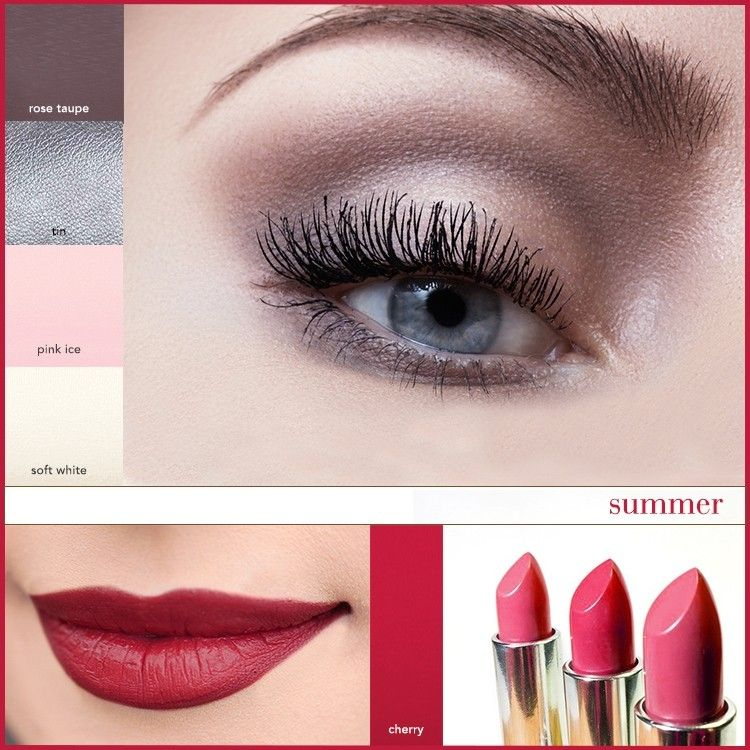 Makeup in your best colours Soft summer makeup, Cool