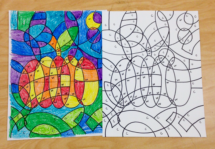 Free Printable Warm And Cool Color Hidden Picture Warmcool Review