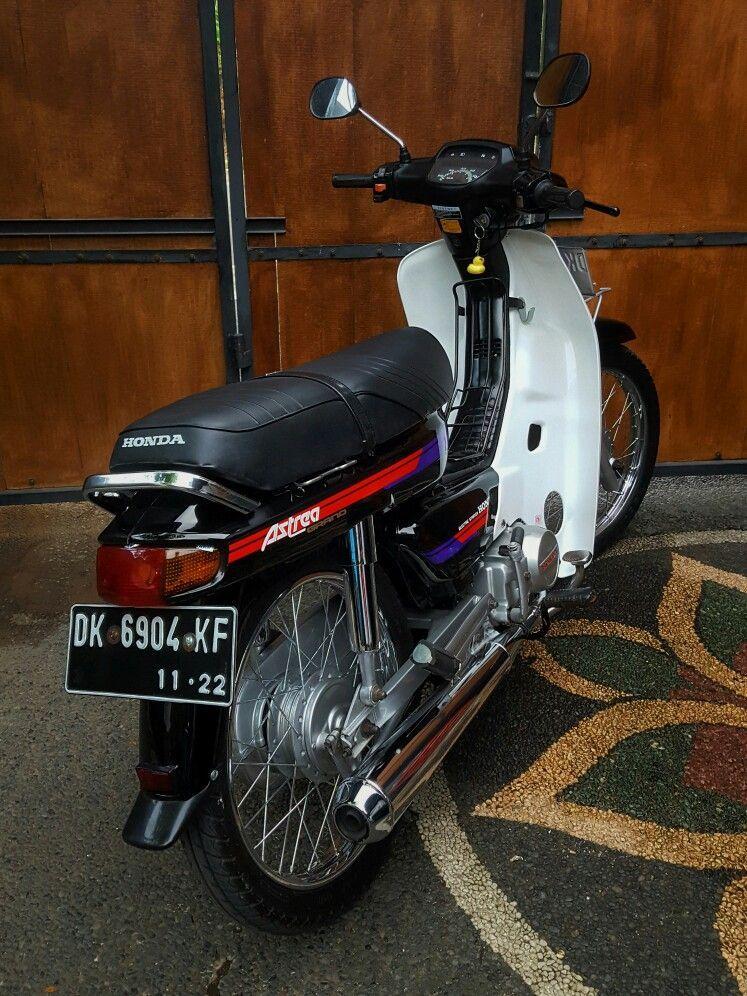 Foto Modifikasi Honda Grand Klasik Retro Paling Keren
