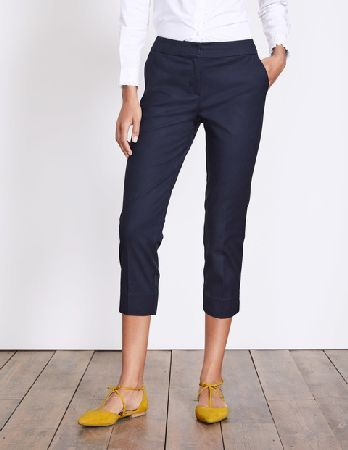#Boden Richmond Capri Trouser Navy Women Boden, Navy #Our best-selling  Richmond trousers just got summer-ready with this new capri cut.