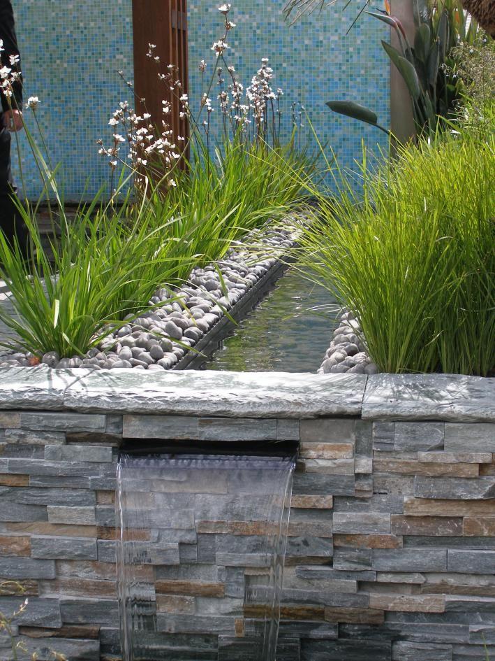 12 Wasserlauf Im Garten Bilder In 2020 Gartengestaltung Bachlauf Im Garten Garten