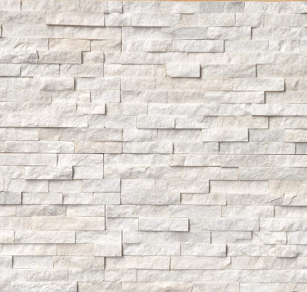 Arctic White Ledger Stone Texture Marble And Stones