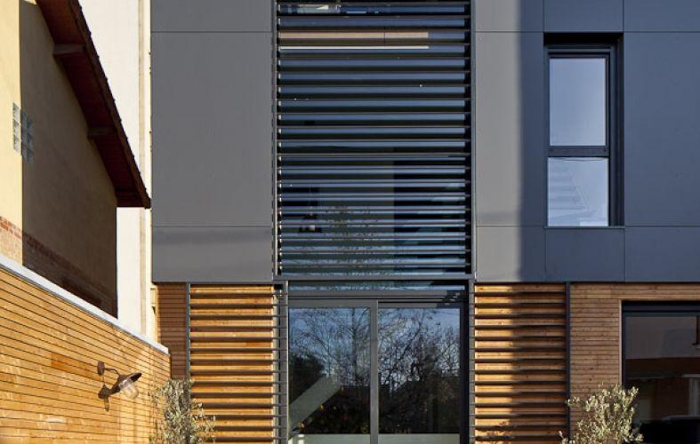 Bardage Trespa u2026 Construction Pinterest Architecture and - jeux de construction de maison en d