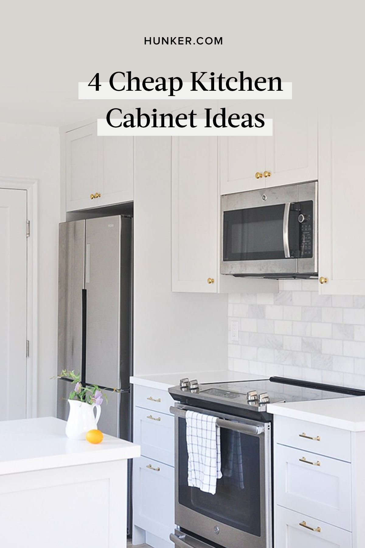 Remodeling Blues Here Are 4 Cheap Kitchen Cabinet Ideas Hunker Kitchen Cabinets Cheap Kitchen Cabinets Cheap Kitchen