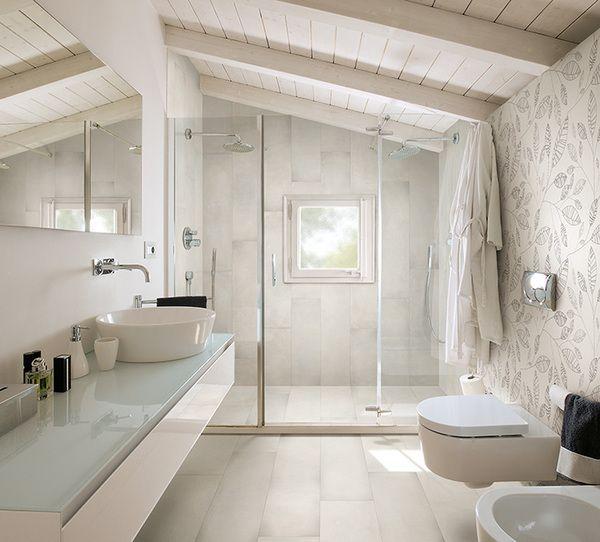 Rivestimento bagno cerca con google secret mansarda pinterest bagno - Bagno mansarda rivestimento ...