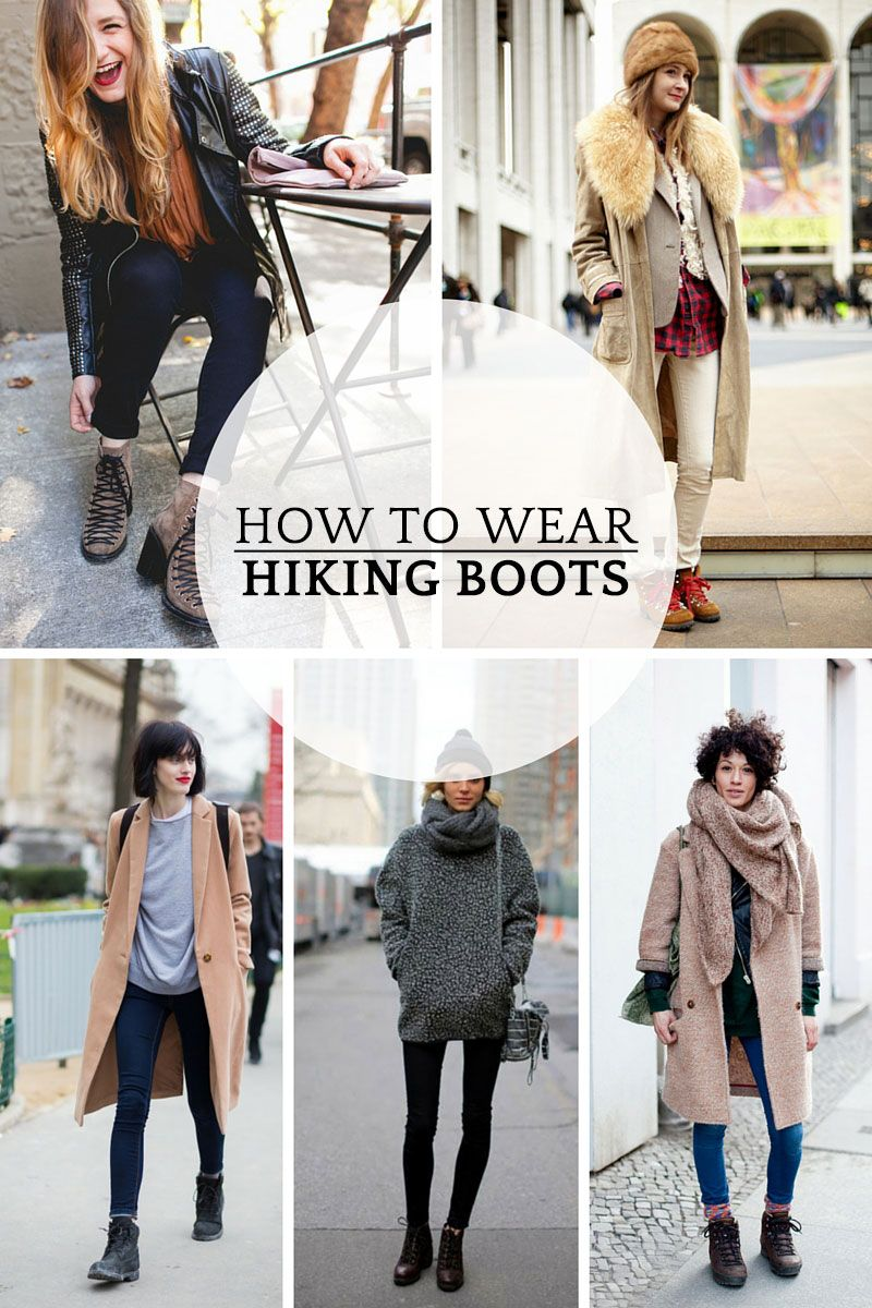 9 stylish ways to wear hiking boots | Hiking boots outfit