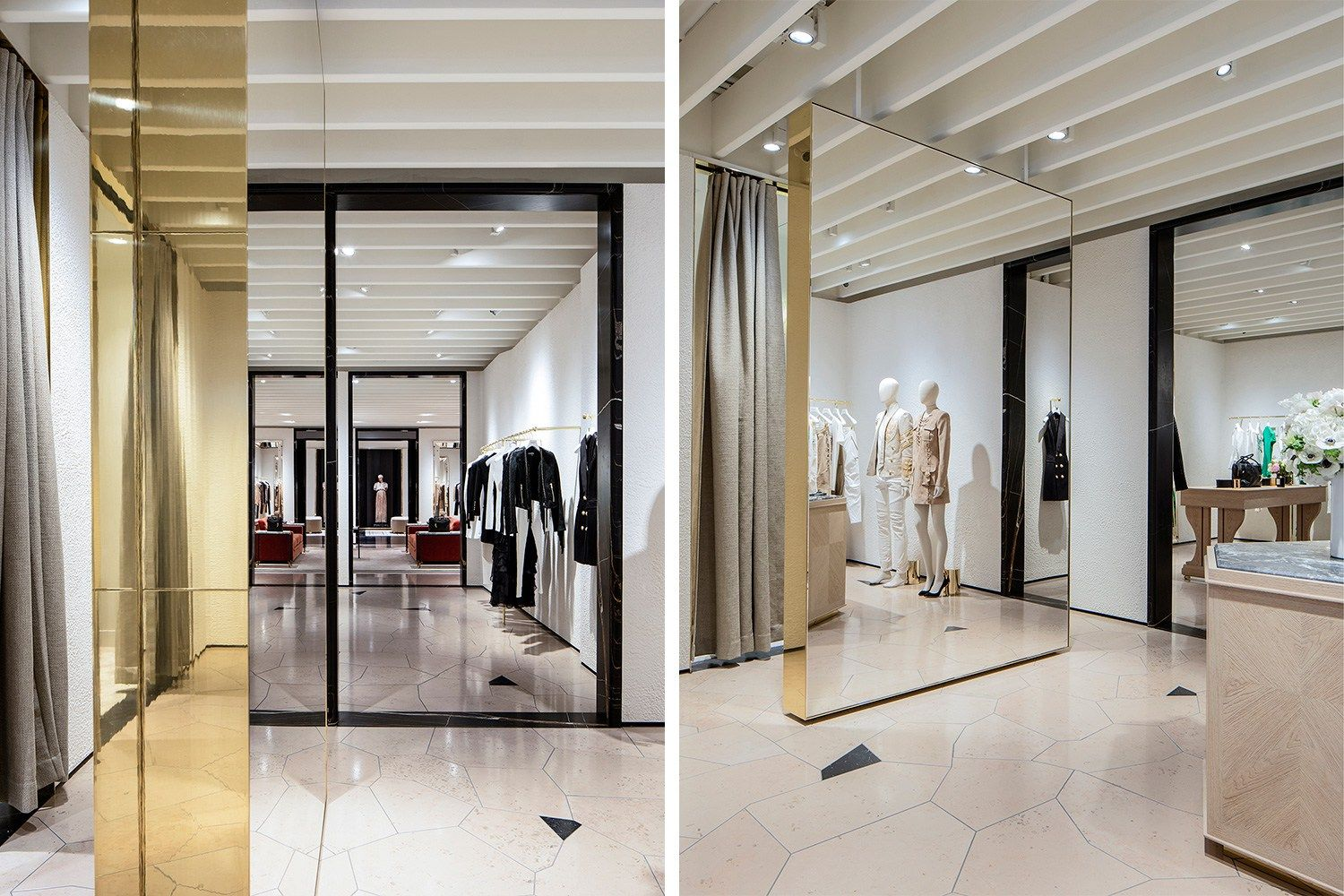 Balmain Opens Its First Flagship Store In New York With Images