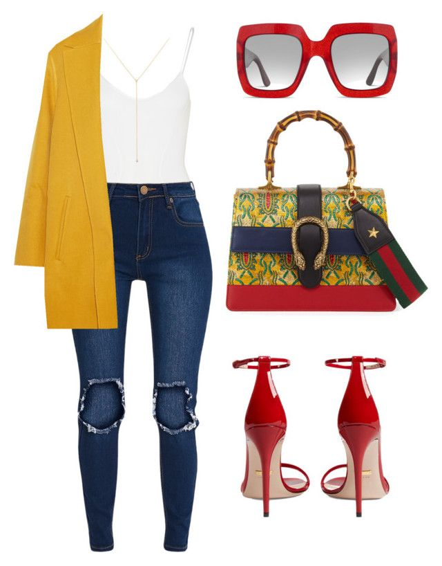 """Untitled #704"" by amoney-1 ❤ liked on Polyvore featuring Body Editions, Rochas, Gucci and ZoÃ« Chicco"