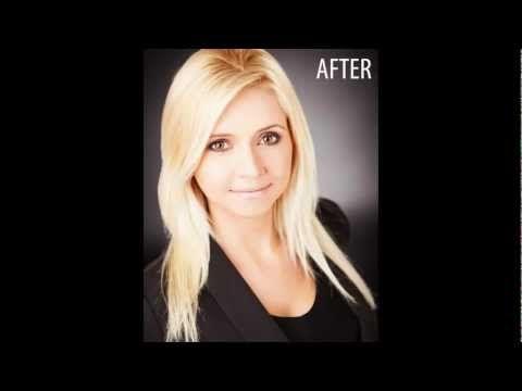 Female Business Headshot Retouching Sample #1 - Wayne Wallace Photography