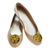 Make your boring flats go from drab to fab with these great monogrammed shoe clips! they come in a wide variety of colors as does the colors for the lettering! We Can also do script lettering! Come in to Coastal Living today to get yours! or call us at 732-292-1866 and we can ship it right to your door!