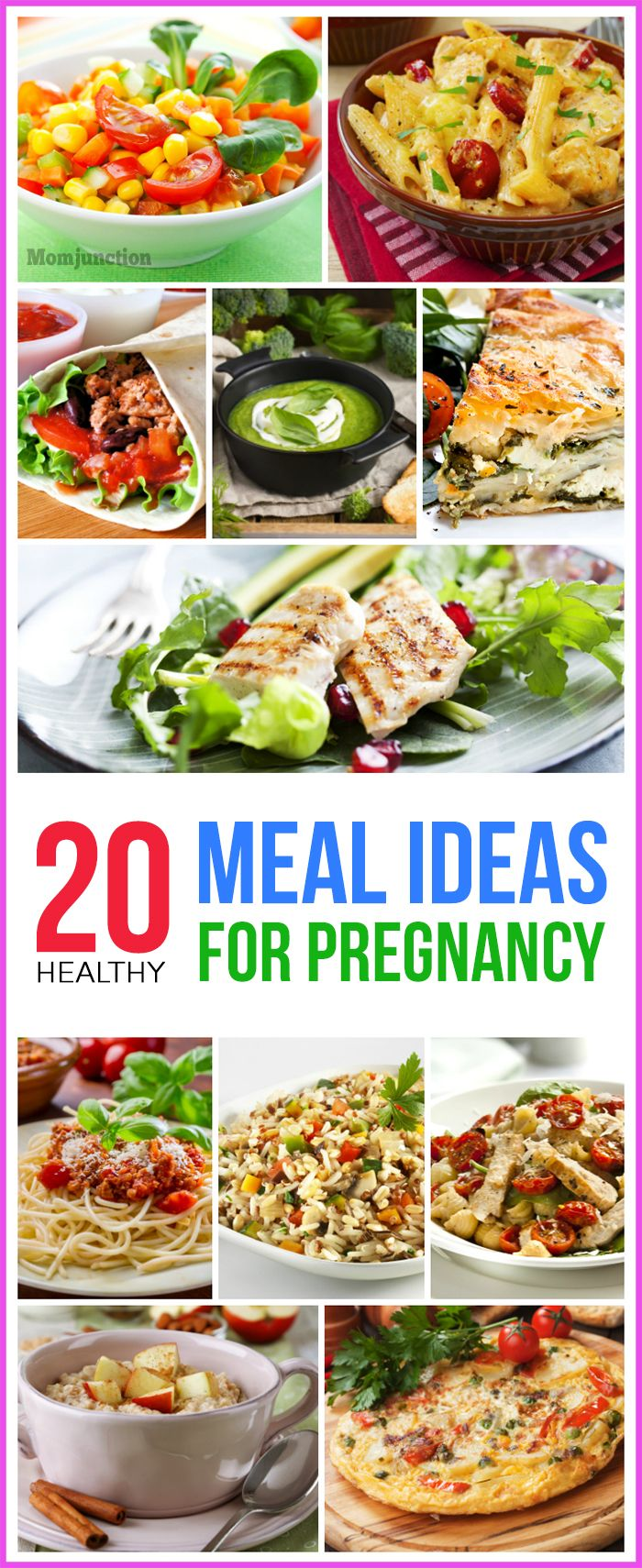 20 healthy meal ideas for pregnancy | meals | pinterest | healthy