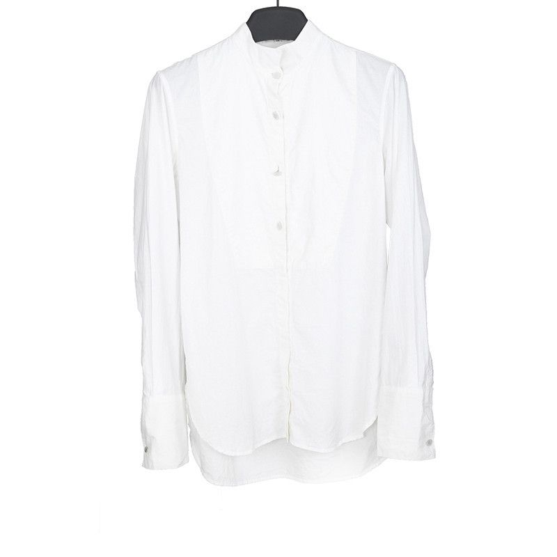 ANN DEMSEULEMEESTER STAND COLLAR DRESS SHIRT