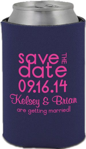 Totally Wedding Koozies.Totally Wedding Koozies Great Alternative Save The Date Option