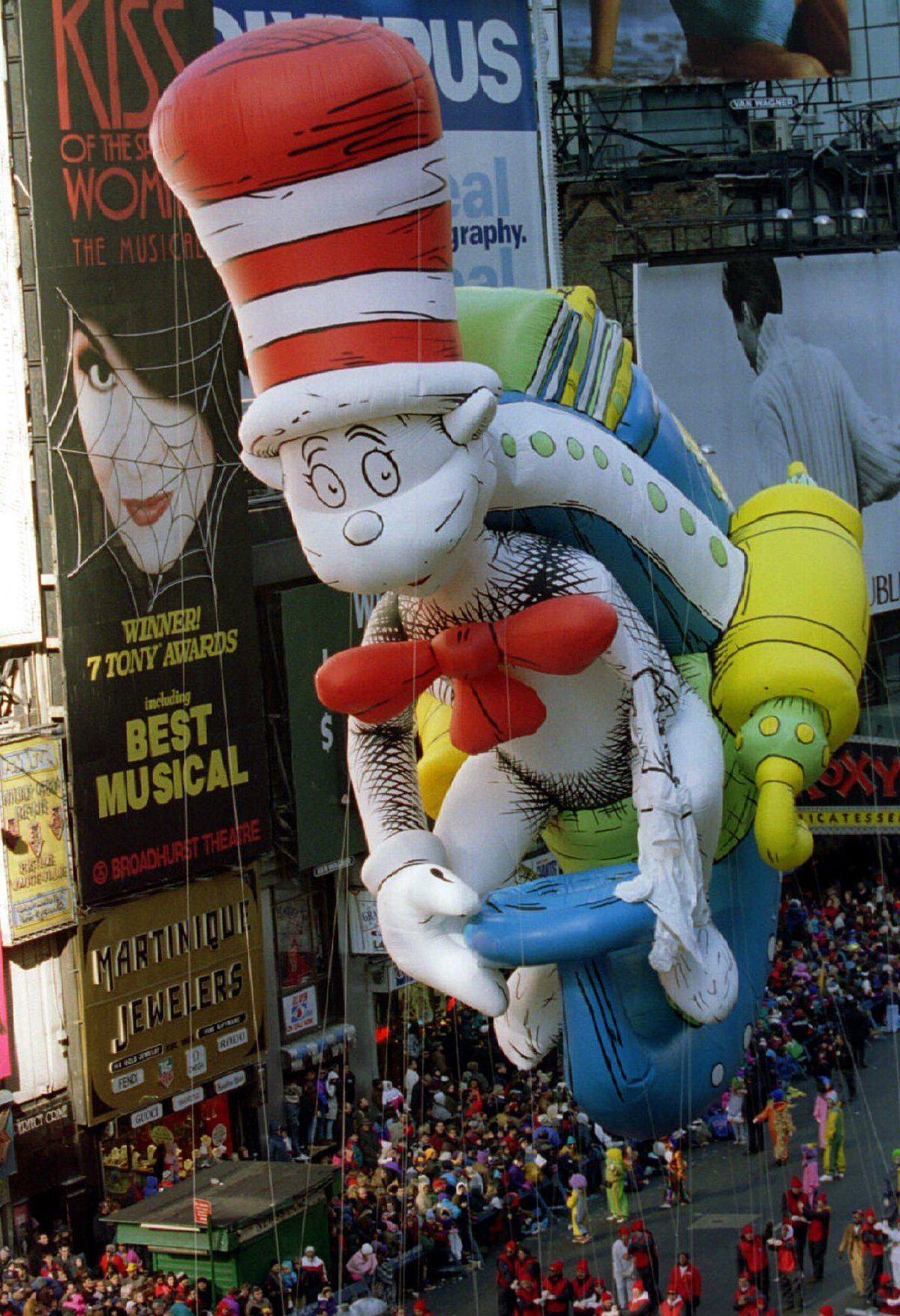 The 89 Year Evolution Of The Macy S Thanksgiving Day Parade 1997 Macy S Parade Balloon In 2020 Macy S Thanksgiving Day Parade Macys Thanksgiving Parade Macys Parade