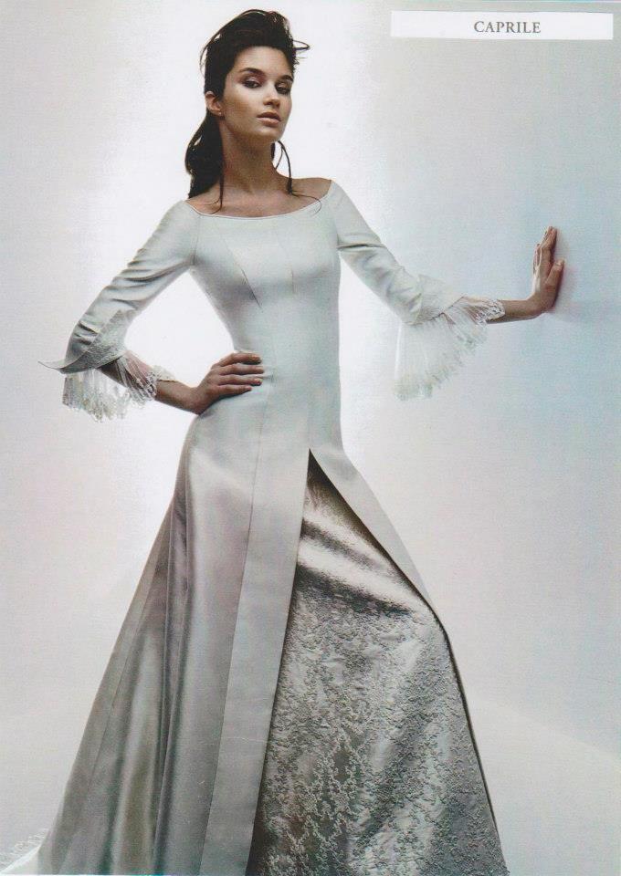vestido de novia – lorenzo caprile, cybece | winter weddings and