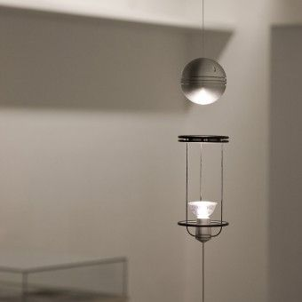 Teslight Floating Magnetic Lamp By A. Bosio And A. Ballestrero