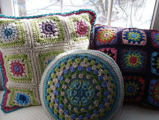 Ravelry: Project Gallery for African Flo… | Crochet Inspiration ...