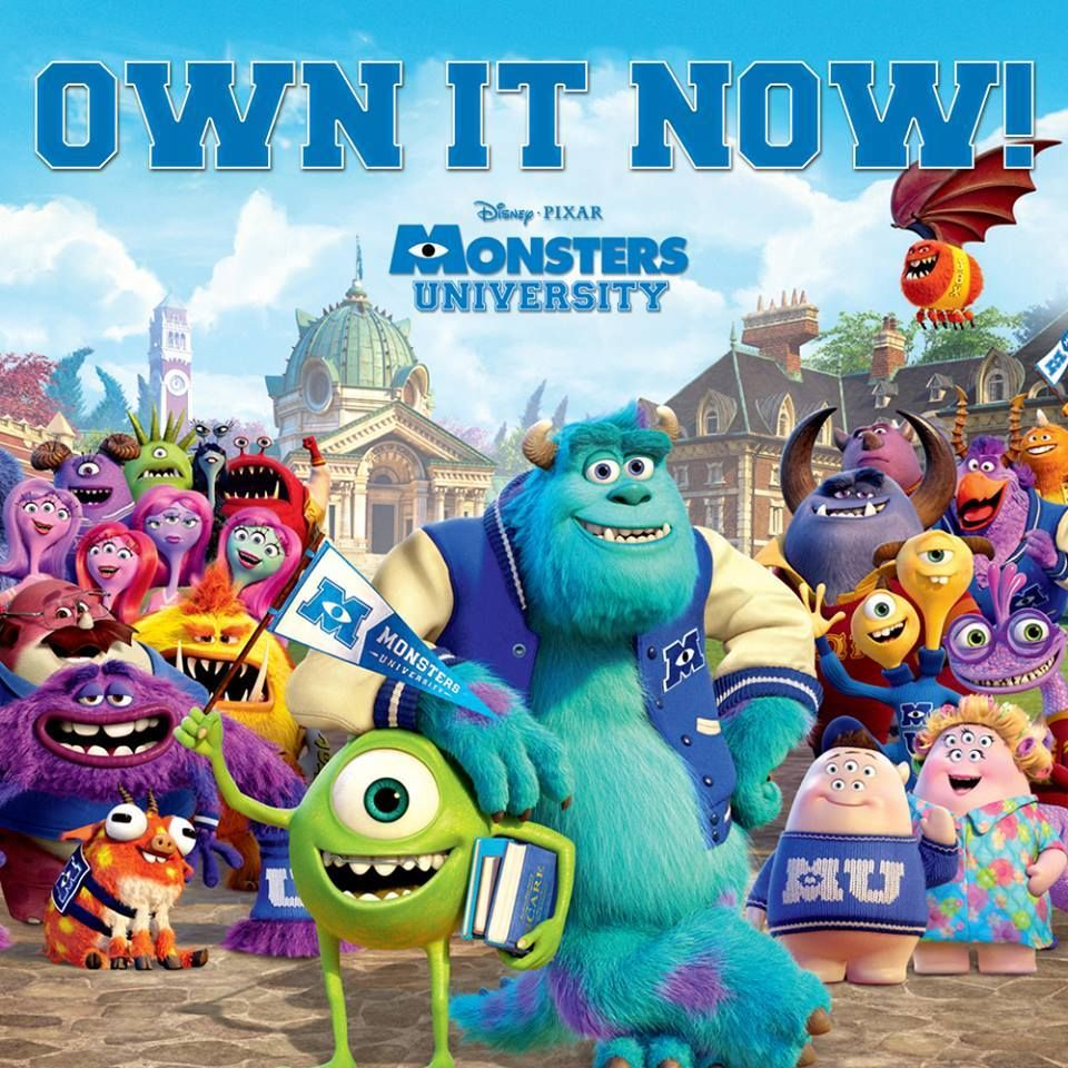 Have you picked up your copy of MonstersUniversity