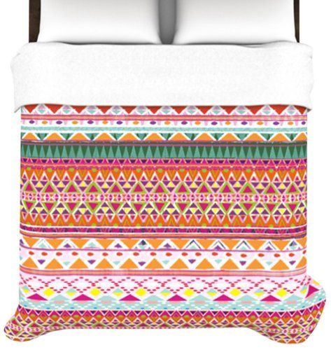 Kess InHouse Nika Martinez Chenoa 68 by 88-Inch Duvet Cover, Twin by Kess InHouse, http://www.amazon.com/dp/B00E20IB9G/ref=cm_sw_r_pi_dp_6Zgqsb0S1VH2X #chenoa #duvet #cover #pattern #tribal #cute #home #decor #girly #bed #bedroom #lovemyroom #lovemybed #lovenika #lovekess #kess #kessinhouse #amazon #deal #sale #trendy #orange #pink #triangles #abstract #native #bohemian #boho #modern #house #modernduvets #coolbeds #coolrooms #coolhomes