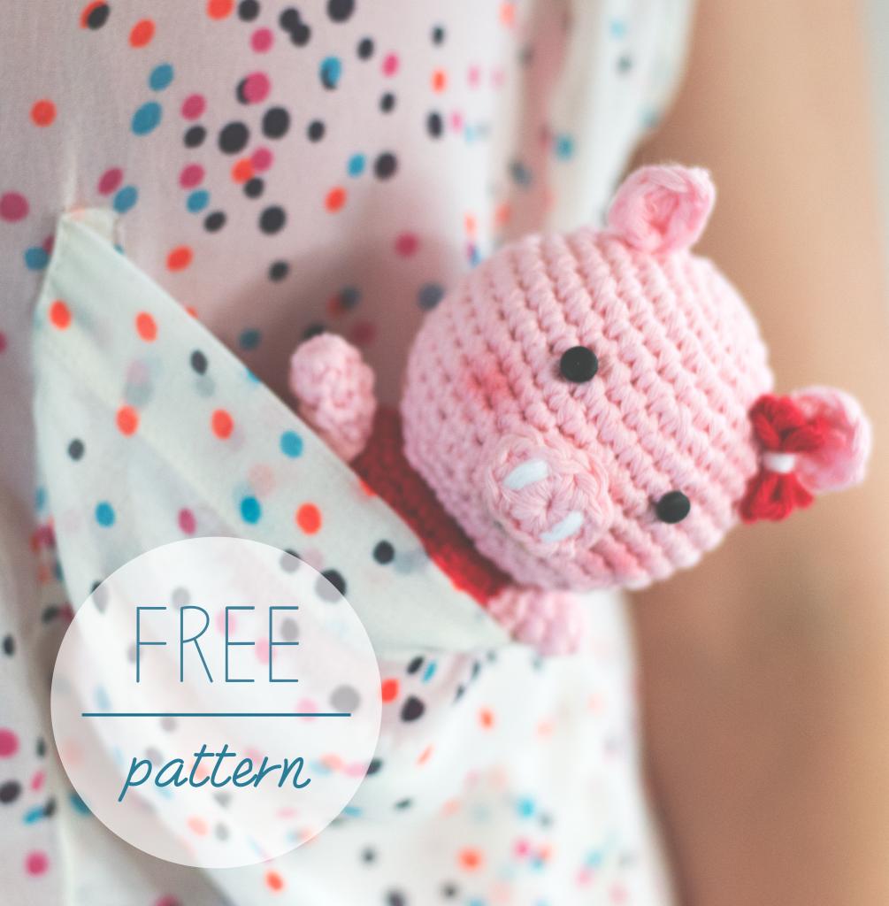 Croby Patterns | FREE Crochet Pattern – Amigurumi Piggy Bella **FREE ...