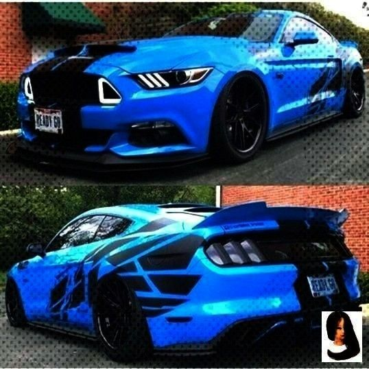 Mustangs?...Daily Dose Of Mustangs?...  Cars blue Daily Dose Of Mustangs???? on Instagram: Grabber