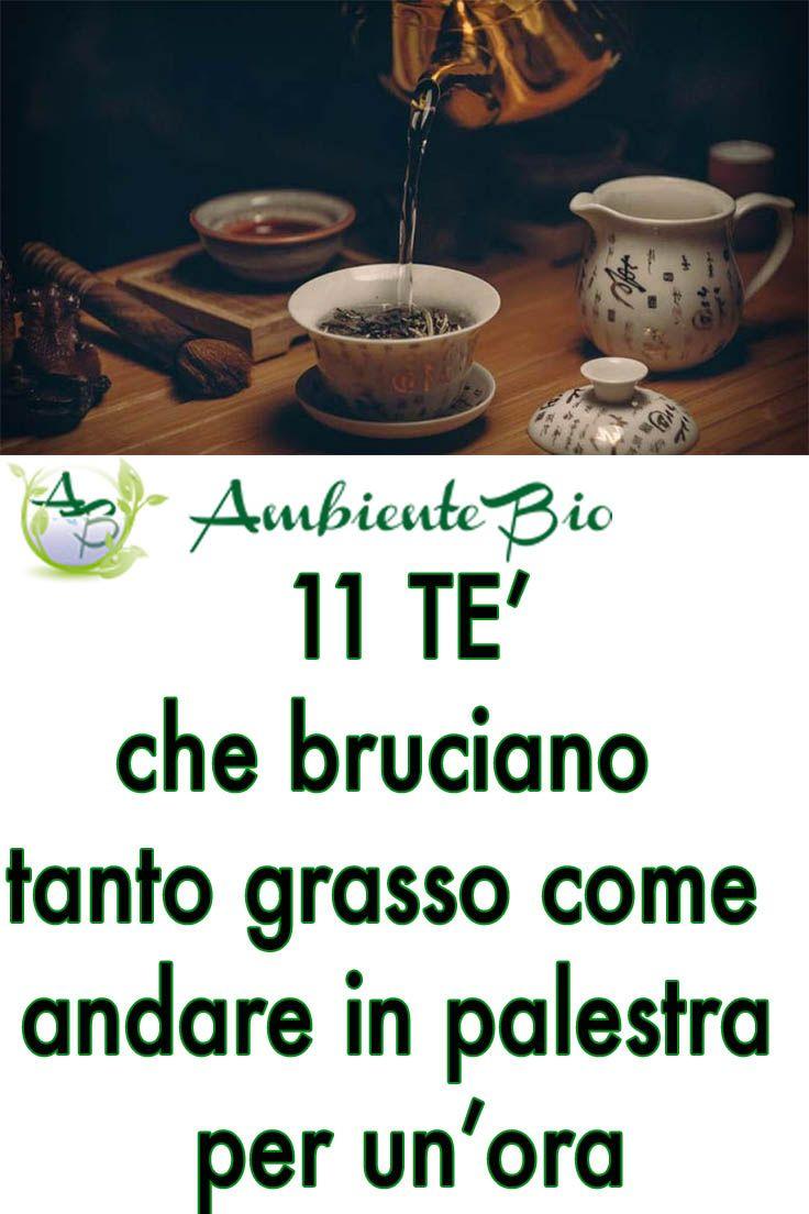 prendi il tè verde e il tè rosso per perdere peso