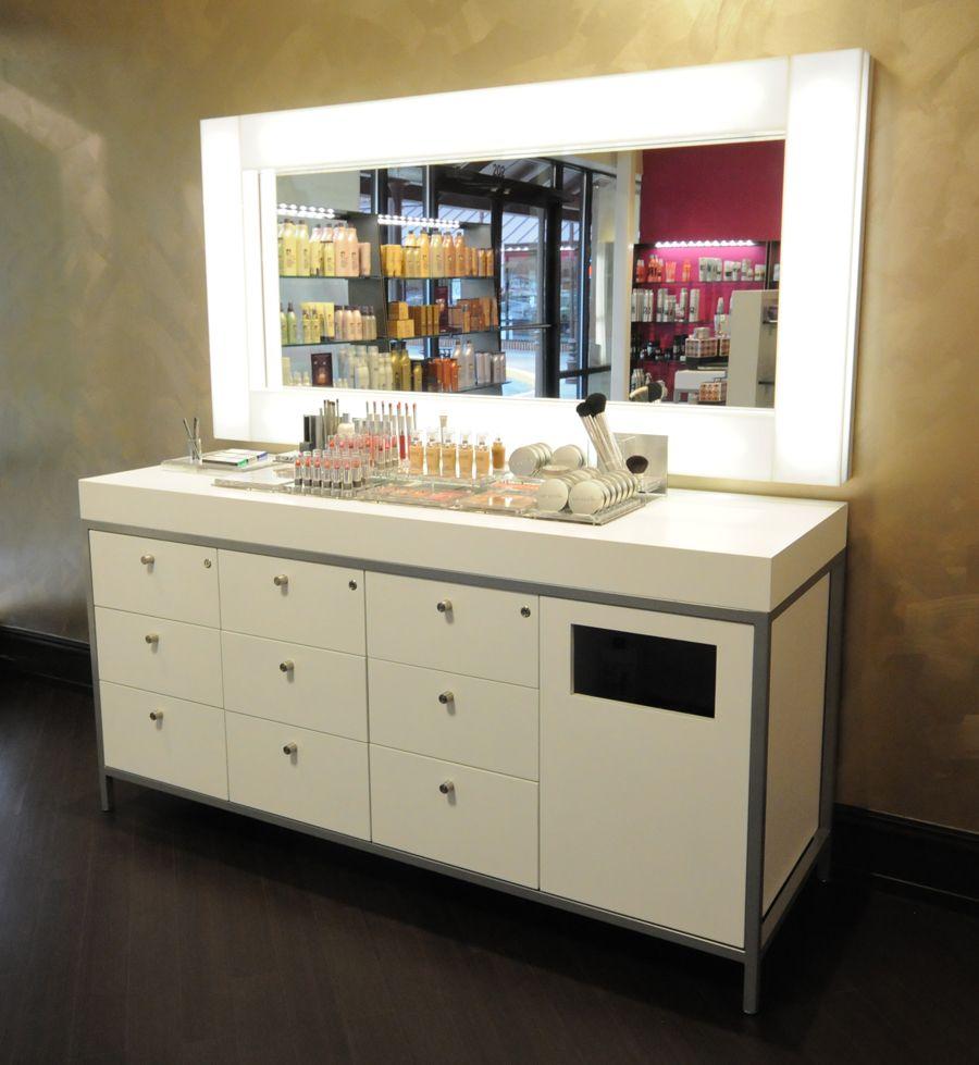 Makeup Table Bob Steele Salon - Atlanta Ga Studio