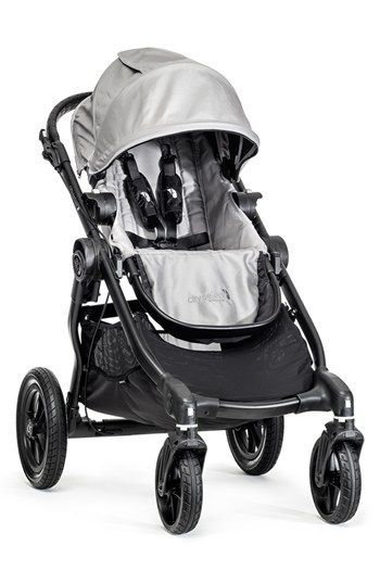 baby jogger 39 city select 39 single stroller silver one size. Black Bedroom Furniture Sets. Home Design Ideas